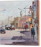Main Street - Wautoma Wood Print