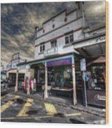Main Street Jive Wood Print
