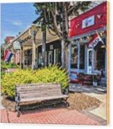 Main Street Mount Joy Wood Print