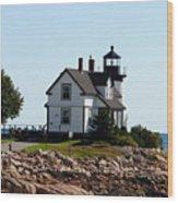 Maine 48 Wood Print