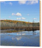 Maine's Beauty Wood Print