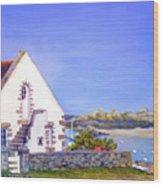 Maison De Chausey Wood Print