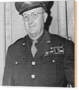 Maj. Gen. Manton Eddy. May 25, 1945. Wood Print