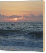 Majestic Atlantic Sunrise Wood Print