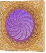 Majestic Ceiling Wood Print