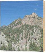 Majestic Eldorado Mountain Wood Print