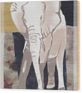 Majestic Elephant Wood Print