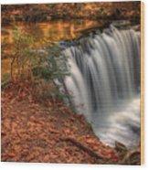 Majestic Oneida Falls Wood Print