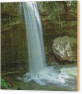 Majestic Pennsylvania Falls Wood Print