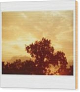 Majestic Sky Wood Print