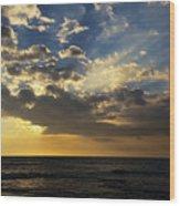 Majestic Sky Wood Print