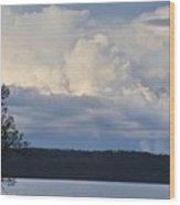 Majestic Storm Clouds  Wood Print