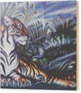 Majestic Tiger Wood Print