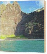 Majestic Wall Western Kauai Wood Print