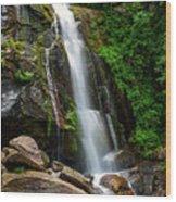 Majestic Waterfall Wood Print