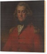 Major Thomas Pechell Wood Print