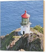 Makapuu Lighthouse 1065 Wood Print