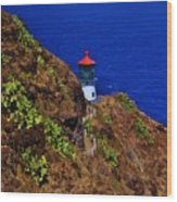 Makapu'u Lighthouse Wood Print