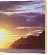 Makapuu Point Sunrise Wood Print
