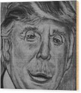 Make America Ape Again Wood Print