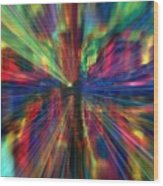 Make Colors Pop Wood Print