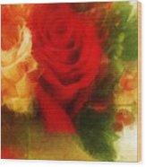 Make Mine Roses Please Too Wood Print