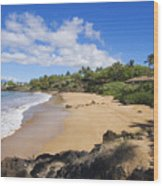 Makena, Changs Beach Wood Print