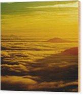 Malahat Sunrise Wood Print