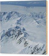 Malaspina Glacier Wood Print