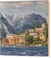 Malcesine Castle, Lago Di Garda Wood Print