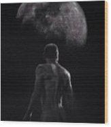Male Nude 16. Moonwalker. Wood Print