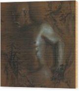 Male Nude 17. East Meets West 1. Wood Print