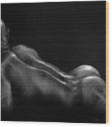 Male Nude 19. Wood Print