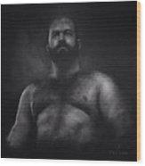 Male Nude 9. Boris.  Wood Print