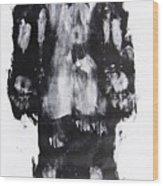 Male Nude Back Wood Print