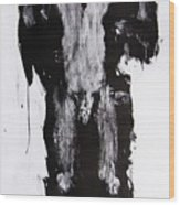 Male Nude Front Wood Print