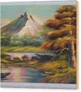 Malibu Hill Wood Print