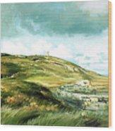 Malin Head Ireland Wood Print
