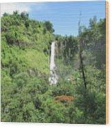 Malino, Waterfall Wood Print