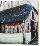 Mallard Barn Wood Print