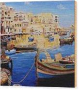 Malta Wood Print