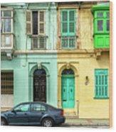 Maltase Style Doors And Windows  Wood Print