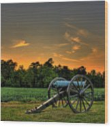 Malvern Hill Battlefield Wood Print