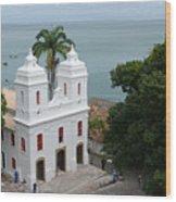 Mam Salvador Da Bahia - Brazil Wood Print
