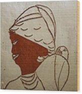 Mama 5 - Tile Wood Print