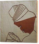 Mama 6 - Tile Wood Print