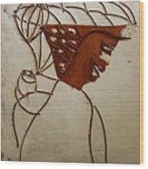 Mama 7 - Tile Wood Print