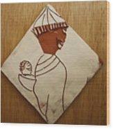 Mama 9 - Tile Wood Print