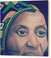 Mama Afrika Wood Print