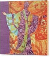 Mama Butterfly Wood Print